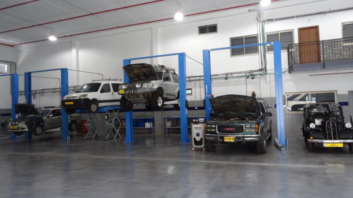 פחחות וצבע לרכב בחיפה ובקריות